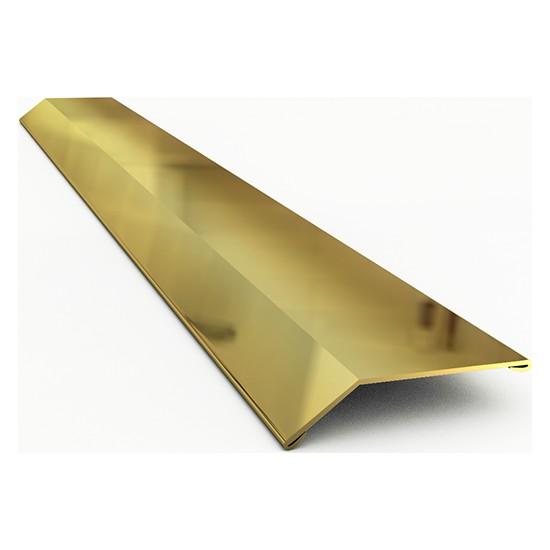 Nova Paslanmaz Çelik Kot Farkı Profili Parlak Gold | 244 cm