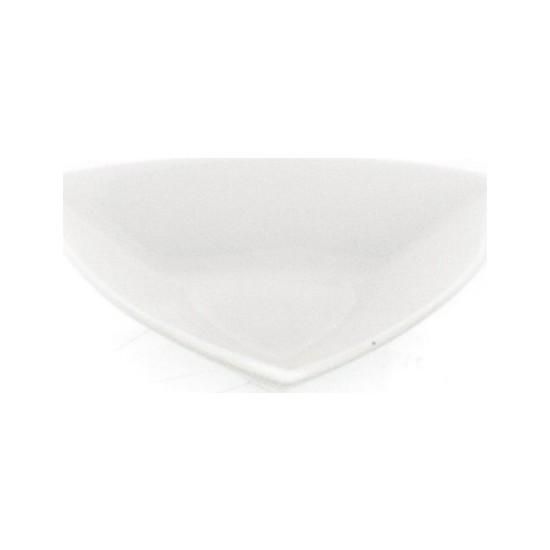 Ultraform Porselen Üçgen Kase 10 cm