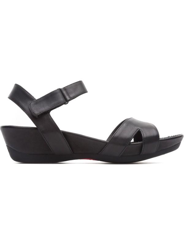 Camper Micro Siyah Kadın Sandalet