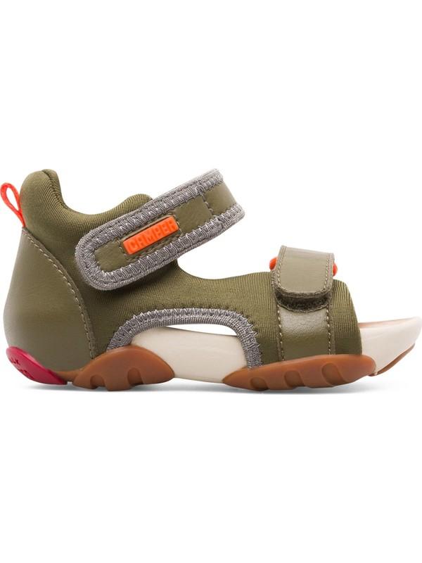 Camper Ous Fw Haki Çocuk Sandalet