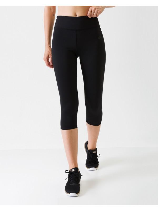 Skechers Core Tights W Base Capri 3 / 4 Kadın Black Beauty Tayt S201252-001