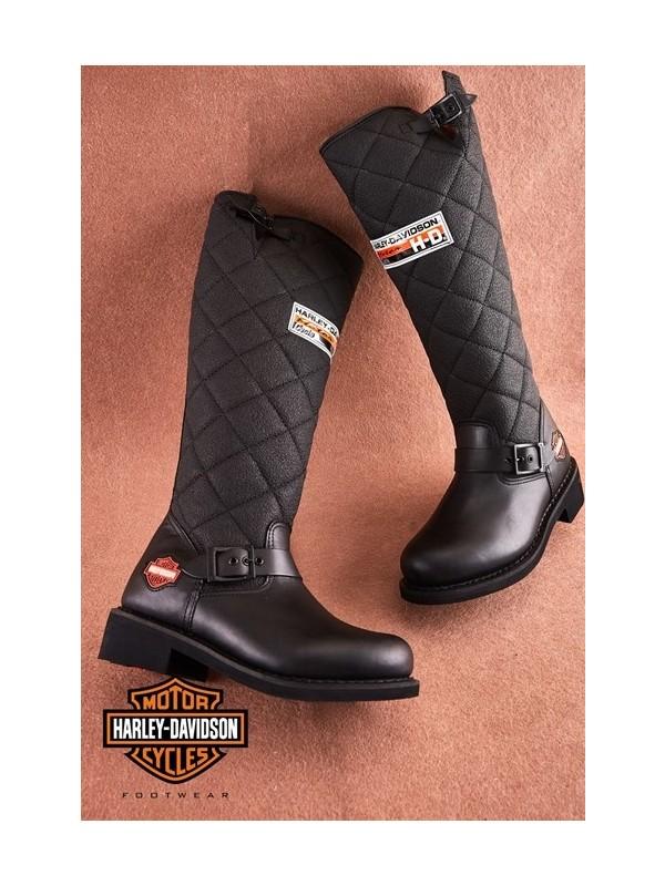 Laconia Black Deri Çizme