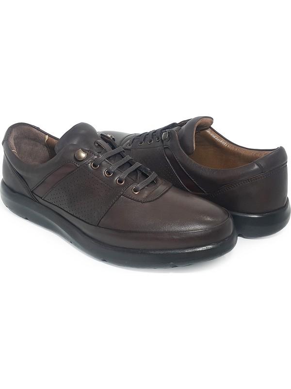 Delta Deri Bağcıklı Erkek Casual Ayakkabı