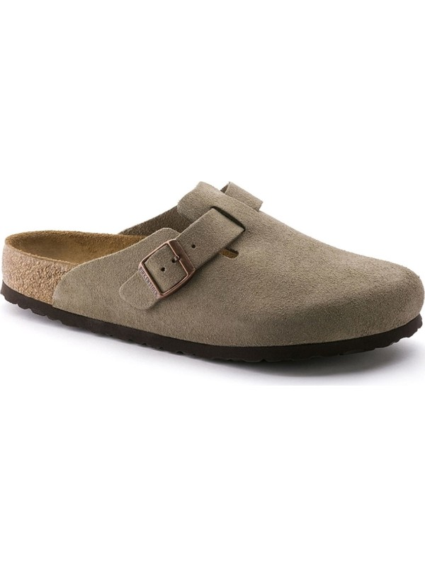 Birkenstock Brands Boston Suede Leather Terlik 560773
