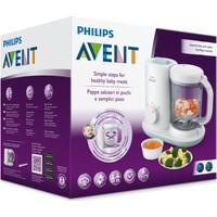 Philips Avent 2'si 1 arada Buharlı Pişirici Blender