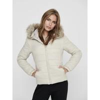 Only Kadın Mont Onldogukan Hood Fur Padded 15231669-STN