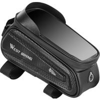 West Biking Bisiklet İçin Cep Telefonu Çantası