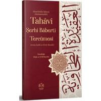 Tahavi Şerhi Baberti Tercümesi Kırık Manalı