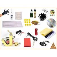Xline XL-249 Yellow En Uygun Fiyat-Tatoo Dövme Makinesi Seti
