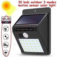 Alfa Solar LED Bahçe Duvar Lambası Sensörlü 30 LED