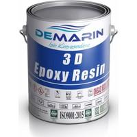 Demarin Ultra Şeffaf Epoksi ReçineParlaktasarım Amaçlı Anti Sararma Yüksek Mekanik Dayanım Epoksi Hardener 25 kg