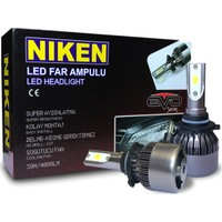 Niken Evo Serisi Led Xenon Far Ampulu H7 / H4 / H11 / H1 / H10 / 9005 / 9006 / H15 + T10 Ampul