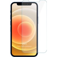"Quse Apple iPhone 12 Mini 5.4"" Nano Ekran Koruyucu Cam"
