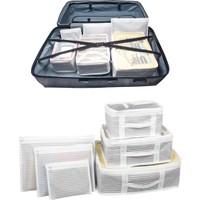 ALAS Bavul Organizer 6 Parça Bavul Düzenleyici Çok Amaçlı Düzenleyici