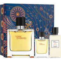 Hermes Terre D'hermes Pure Parfum Edp 75 ml + Mini 12,5 ml + After Shave Lotion 40 ml