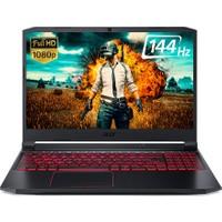 """ACER NITRO AN515-44 AMD Ryzen 7 4800H 16GB 512GB SSD GTX1650Ti Linux 15.6"""" FHD 144Hz Taşınabilir Bilgisayar NH.Q9HEY.003S"""