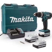 Makita DF347DW+MAKTEC Darbeli Akülü Vidalama 3 Akülü 26 Parça Set