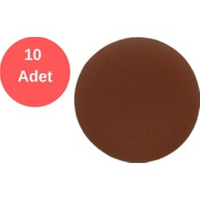 Tuğra Cırt Zımpara 115X60 Kum Kırmızı 10 Adet