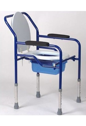 Dr.hegeli Katlanır Klozet Yükseltici - Komot - Hasta Tuvalet Sandalyesi