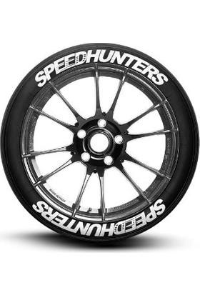 Ps Stickers Lastik Yazısı 4 Lü Speedhunters Stıker