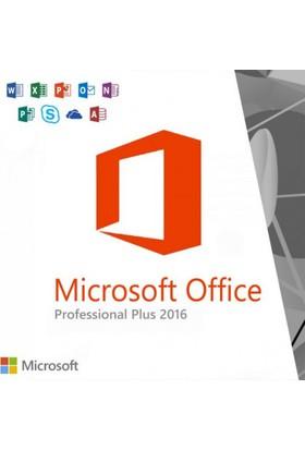 Microsoft Office 2016 Pro Plus Tüm Dillerde Süresiz Dijital Lisans Anahtarı
