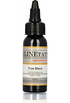 Xline 1 Oz Xlinetattoo True Black Dövme Boyası - 30 ml Siyah Dövme Mürekkebi