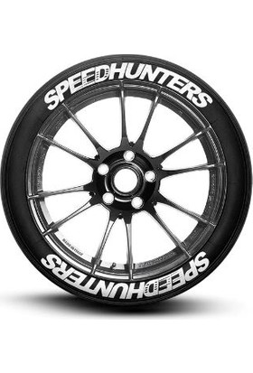 Ps Stickers Lastik Yazısı 8li Speedhunters Stıker