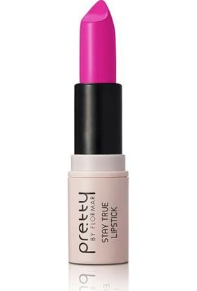 Flormar Stay True Lipstick 14 - Fuşya