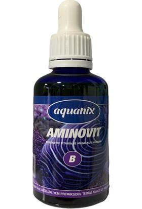 Aquanix Aminovit Balık Vitamini 50 cc