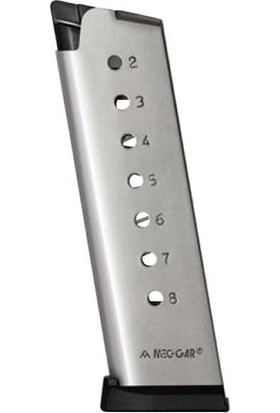 Sarjor Mec-Gar Colt 45 Inox (Beyaz)