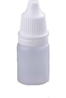 Hdg 50 Adet 5ml - Damlatma Uçlu Plastik Boş Şişe-Likit-Kolonya-Dezenfektan-Mürekkep Şişesi