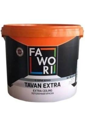Fawori Boya Fawori Tavan Extra Tavan Boyası 10 kg Beyaz
