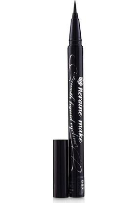 Kiss Tip Liquid Eye Pen 01 - Black