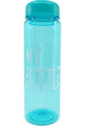 My Bottle Kılıflı Polikarbon Su Matarası Mavi