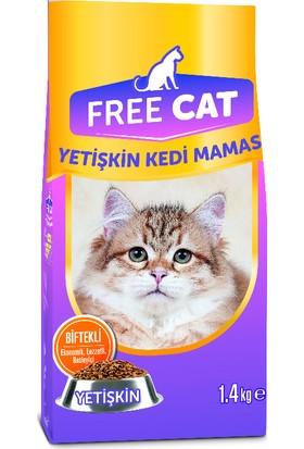 Free Cat Kedi Mama Biftek Yetişkin 1.4 kg