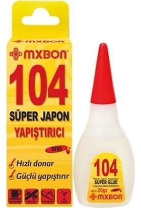 Vodabond 104 Süper Japon Yapıştırıcı Net:15 gr Şeffaf