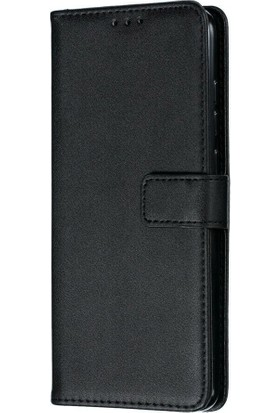 Teleplus Samsung Galaxy Note 10 Lite Kılıf Lokal Standlı Cüzdan Siyah