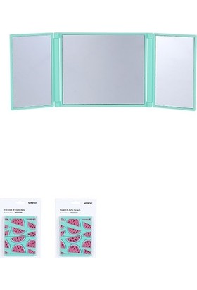 Miniso Karpuzlu Katlanabilen Cep Aynası