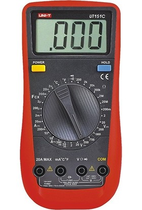 Uni-T UT151C Genel Tip Dijital Multimetre