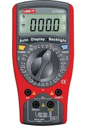 Uni-T UT50E Genel Tip Dijital Multimetre
