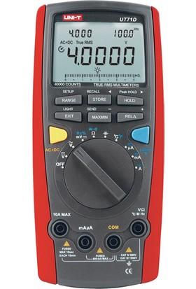 Uni-T UT71D Akıllı Tip Dijital Multimetre
