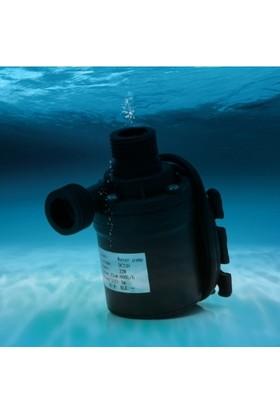 Alfa 800 lt Saat 22W Dc 12V Fırçasız Su Pompası Motor Su Geçirmez Hidrofor