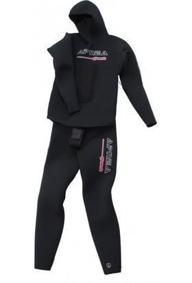 Apnea Ghost 5mm Zıpkıncı Dalış Elbisesi Siyah