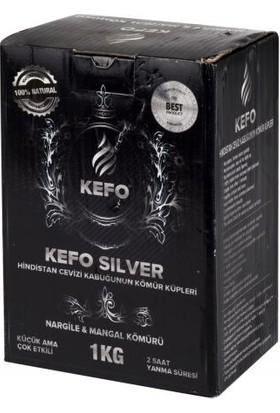 Kefo Silver Nargile Kömürü 72 Küp 1 kg