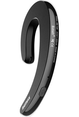 Remax RB-T20 Ultrathin Kulak Kancası Tek Taraflı Bluetooth Telefon Kulaklığı Kemik İletimli Kulaklık - Siyah (Yurt Dışından)