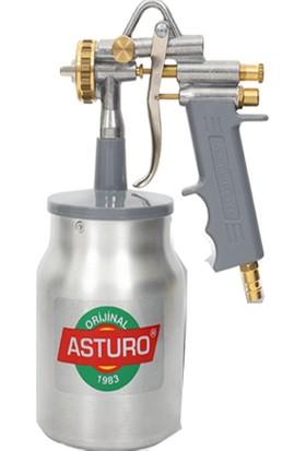 Asturo G-70 Alttan Depolu Boya Tabancası 2,2 mm