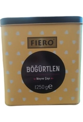 Fiero Böğürtlen Çayı Teneke 250 gr