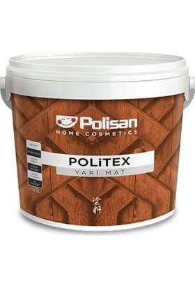 Polisan Politex Dekoratif Yarımat ( Su Bazlı ) Ceviz 2,5 Lt.