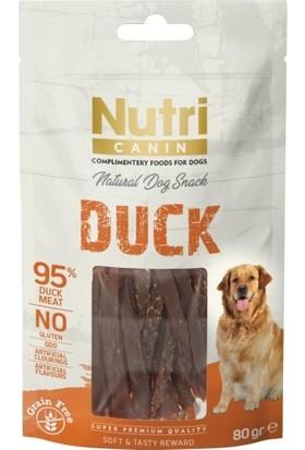 Nutri Canin Duck Snack Köpek Ödülü 80 gr