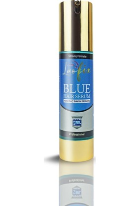 Laofix Saç Dökülmesine Karşı Doğal Mavi Su Saç Bakım Serumu 50 ml